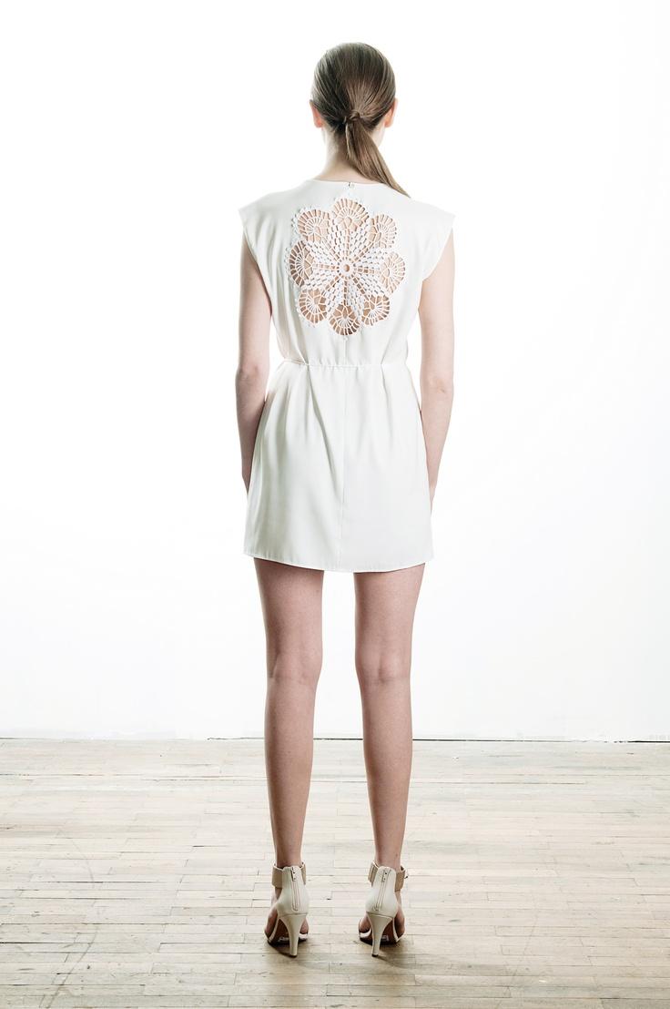 dress with hand crochet detail, spring / summer 2013, 79€