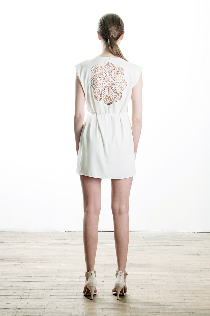 dress with hand crochet detail, spring / summer 2013, 79€