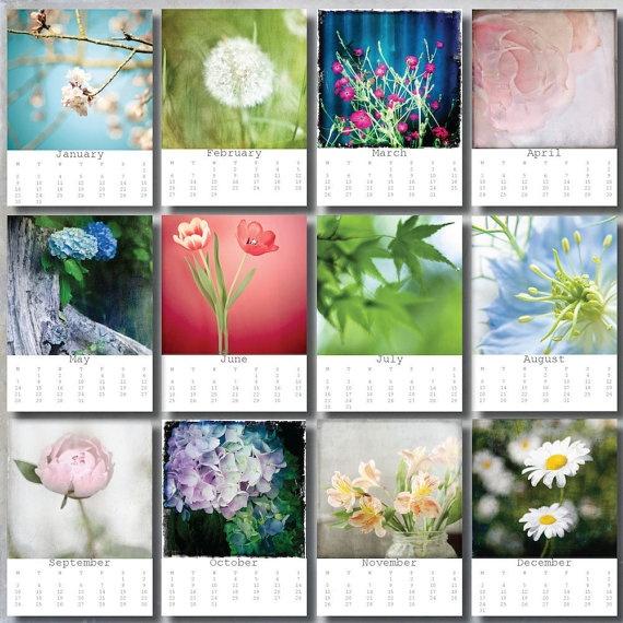 Calendar Flowers : Best images about floral calendars on pinterest photo