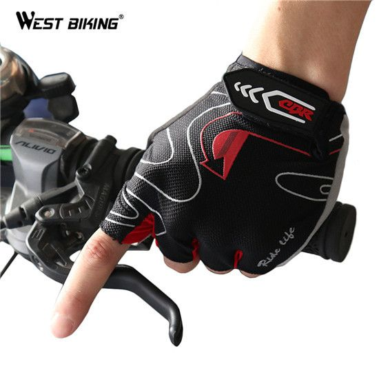 WEST BIKING 3D Gel Bicycle Gloves Summer MTB Breathable Unisex Guantes Ciclismo Mountain Bike Bicycle Cycling Gloves