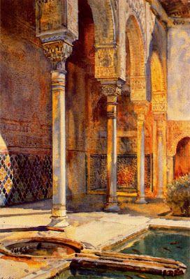 Landscapes by British artist George Owen Wynne Apperley
