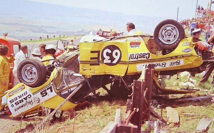 Bill Brown's spectacular Bathurst rollover crash