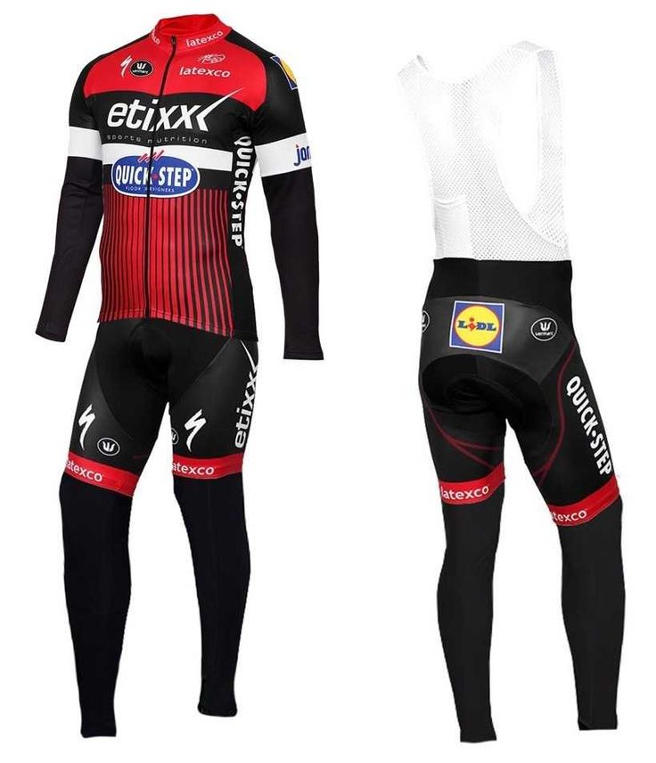 2016 Etixx-Quick Step TDF Editie rot Outlet Fahrradbekleidung Fahrradbekleidung Lang + Lang Trägerhose