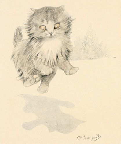 17 Best Images About Vintage Kitty Cats On Pinterest
