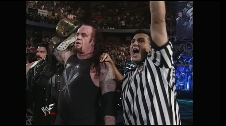 Undertaker wins the WWF Championship at Over The Edge (1999)