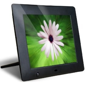 1 NIX 8 Inch Digital Photo Frame Motion Sensor turns frame ONOFF automatically when it senses you nearby