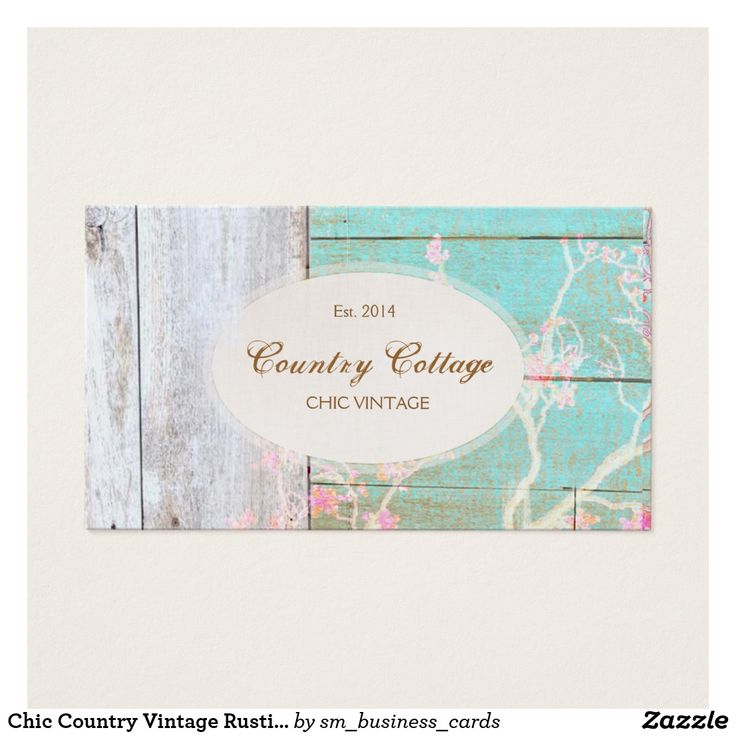 46 best art business cards images on pinterest art business cards chic country vintage rustic wood boutique business card reheart Gallery
