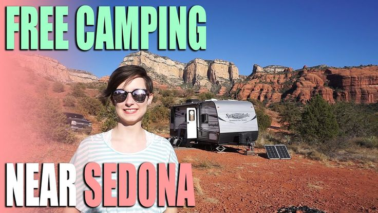 Free camping near sedona arizona forest road 525
