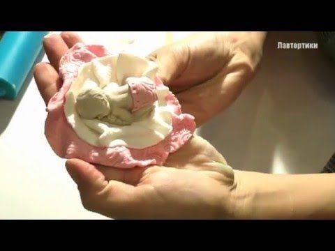Фигурки на торт. Лепим малыша из мастики. Figures on the cake - YouTube
