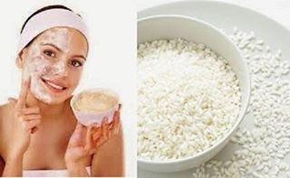 || Cara membuat masker menggunakan beras || Beras digunakan sebagai masker muka ...