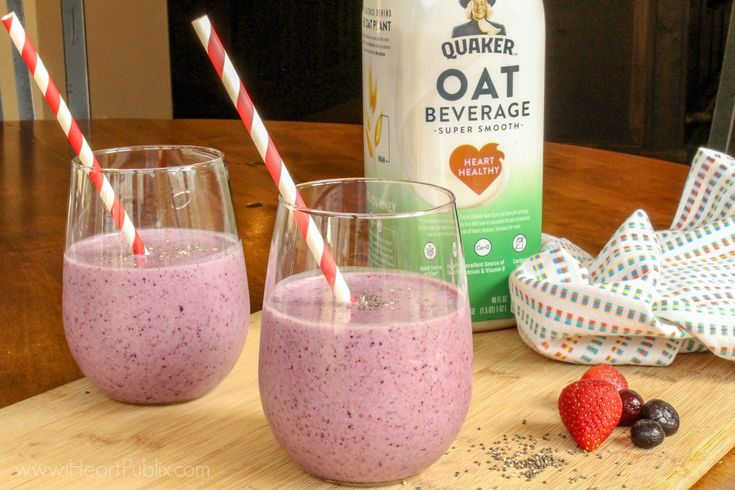 Chia berry smoothie recipe in 2020 berry smoothie