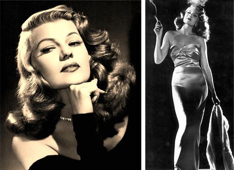 I wanted to be (and probably still do) Rita Hayworth