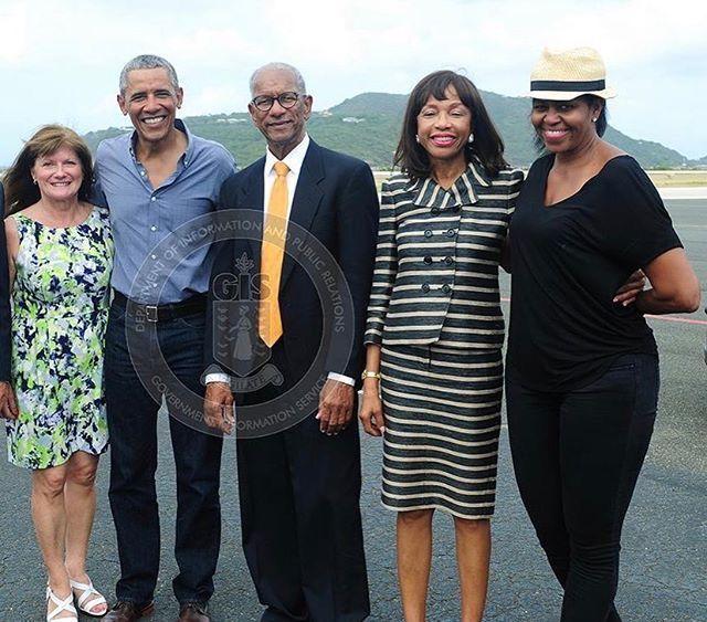 barack obama and family 2017 - photo #36