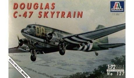 Italeri - 0127 - Maquette d'avion / Aircraft Model kit- Douglas C-47 Dakota Skytrain - 1/72