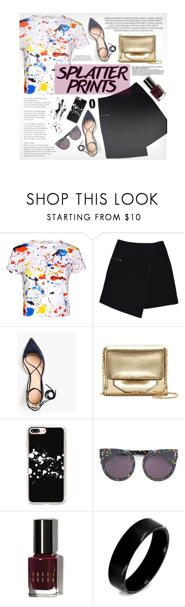 """""""Pop of color"""" by ladrianag ❤ liked on Polyvore featuring xO Design, Alice + Olivia, MARC CAIN, J.Crew, Louise et Cie, Casetify, STELLA McCARTNEY, Bobbi Brown Cosmetics, West Coast Jewelry and Chanel"""