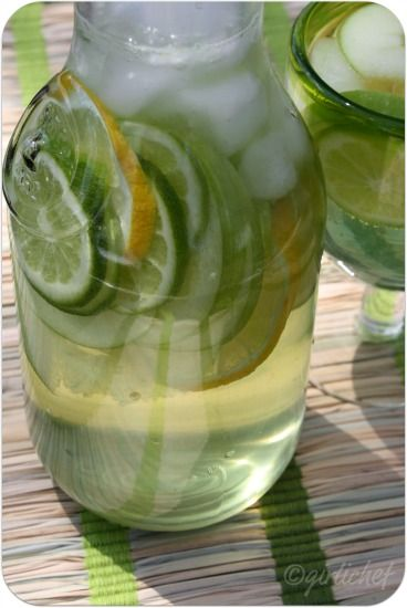 Sour Apple Sangria