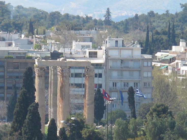 Athens, Temple of Olympian Zeus