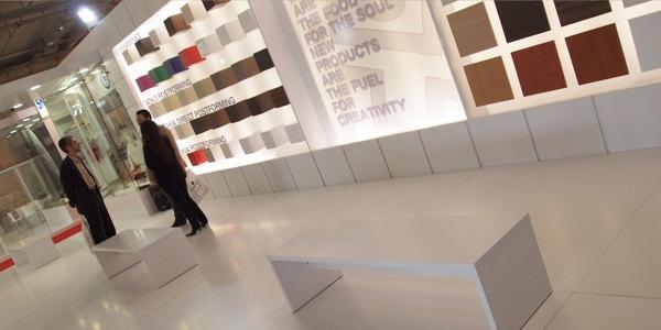 Shelman Booth, Exhibition Design for Theasis production by Alexandros Konstantinou, via Behance