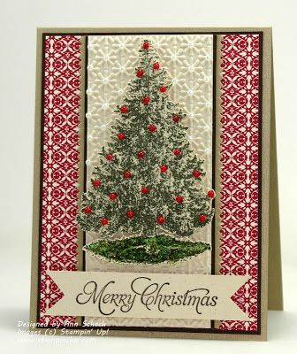 The Stampin' Schach Christmas Lodge - Retiring SU Stamp Set 2013