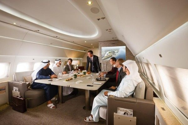 Emirates Launches Luxury Private Jet Service.Dubai-based carrier Emirates has launched a luxury private jet service that could be described as flying hotel