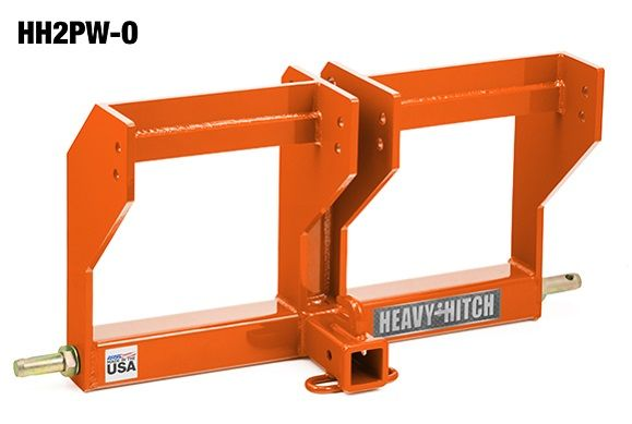 Category 2 Receiver Hitch and Bracket for 100lb John Deere Suitcase Weights   Heavy Hitch   Made in the USA   $369.00