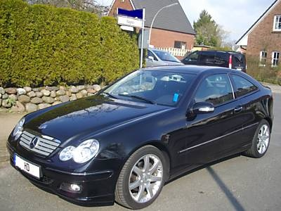 Mercedes-Benz C200 Kompressor Sports Coup