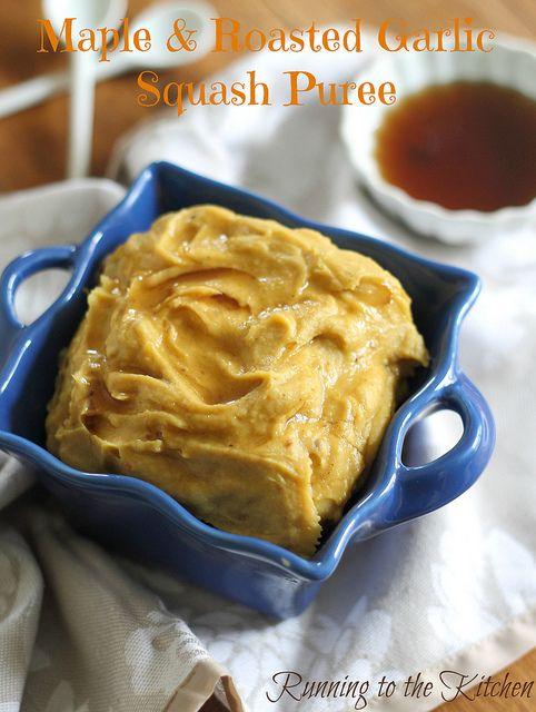 ... garlic squashes butternut squashes squashes puree roasted garlic maple
