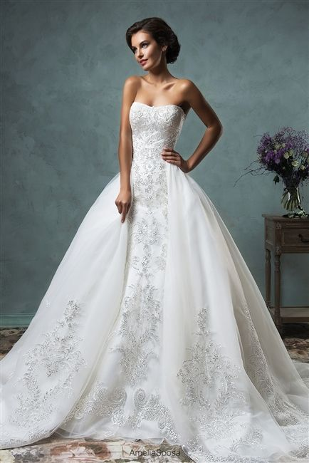 The 25 best convertible wedding dresses ideas on pinterest ball gown wedding dresses ideas amelia sposa celeste custom dream gowns wedding dresses junglespirit Image collections