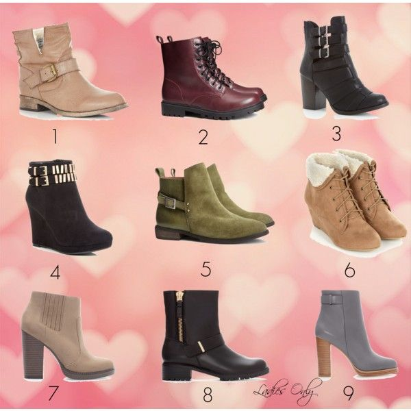 """ankle boots"" by ladies-only on Polyvore"