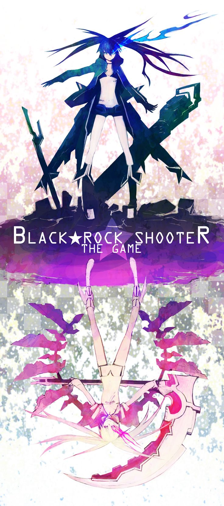 Black Rock Shooter, White Rock Shooter