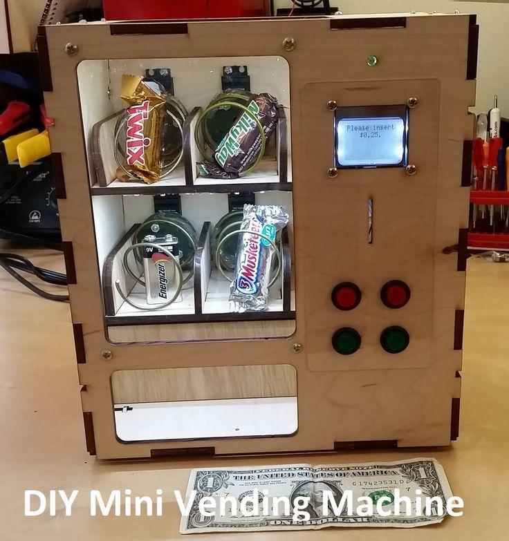 Venduino Arduino Vending Maching