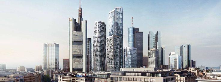 Immobilien Frankfurt: An Geld herrscht kein Mangel. Bild: FAZ http://www.faz.net/aktuell/rhein-main/frankfurter-wohnungsmarkt-vier-neue-hochhaeuser-fuer-die-innenstadt-15232990.html #Immobilien #Frankfurt #Neubau #Wohnturm #Hochhaus