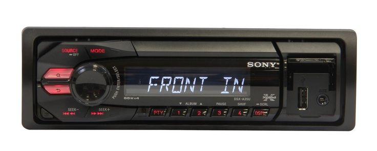 Vive la música que te apasiona en tu vehículo con el estéreo de Sony. Con una potencia de 55W x 4, que te asegura sonido claro; personaliza tu sonido con su ecualizador.  Escucha tu estación AM/FM favorita, además posee entrada USB y auxiliar frontal para reproducir tus canciones favoritas desde tu memoria portátil, teléfono o reproductor mp3.  Su sistema Antishock da protección anti salto, para una reproducción sin interrupciones.  Compra tu Auto estéreo es fácil y seguro, sólo en La…