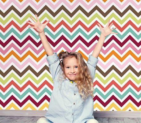 Καλή εβδομάδα Houseart Funs!  Tαπετσαρία τοίχου: http://www.houseart.gr/select_use.php?id=281&pid=10798  #houseart #happy_week #wallpaper #kids_room #colors #patterns