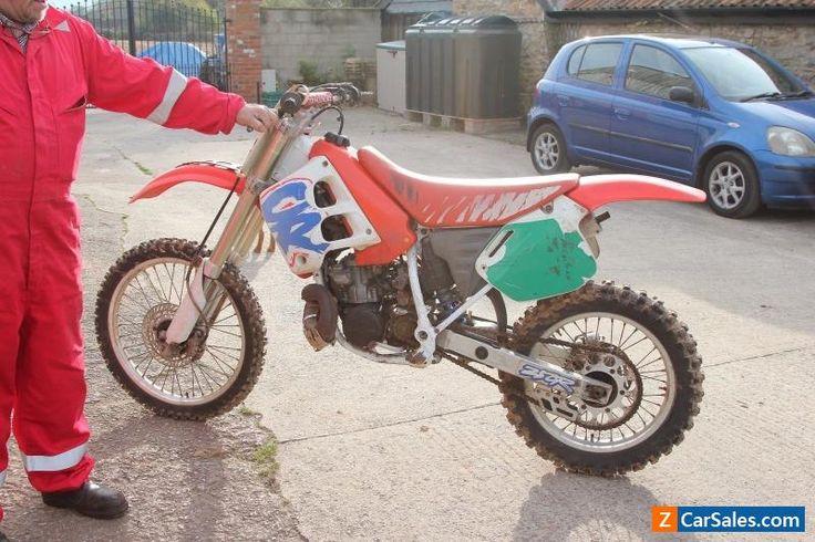Rare CR250r  honda Vintage 1991 motocross 2 stroke barn find project  #honda #cr #forsale #unitedkingdom