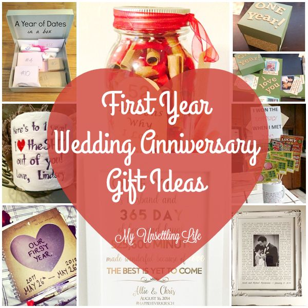 Wedding Anniversary Gifts For Husband Ideas: 17 Best Ideas About First Year Anniversary Gifts On