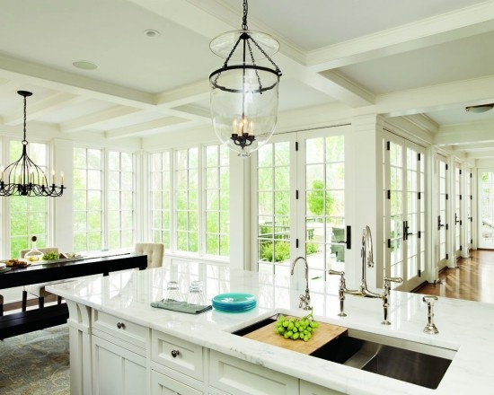 a white kitchen i could live with for the rest of my life.