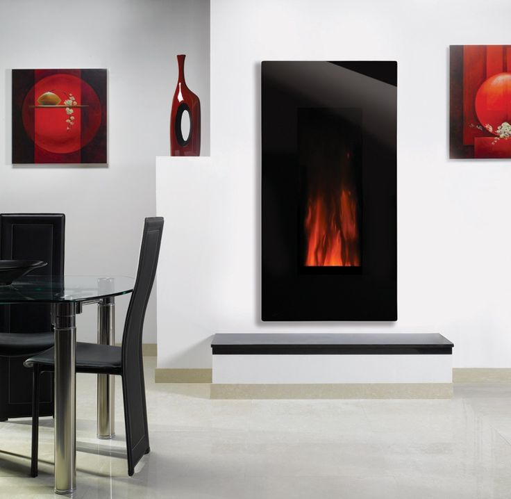 11 best images about strict wall mounted electric fireplaces on pinterest electric fireplaces - Contemporary fireplaces wall mounted ...