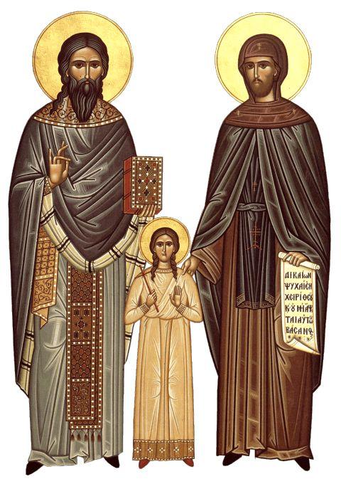 Πνευματικοί Λόγοι: Άγιοι Ραφαήλ, Νικόλαος και Ειρήνη