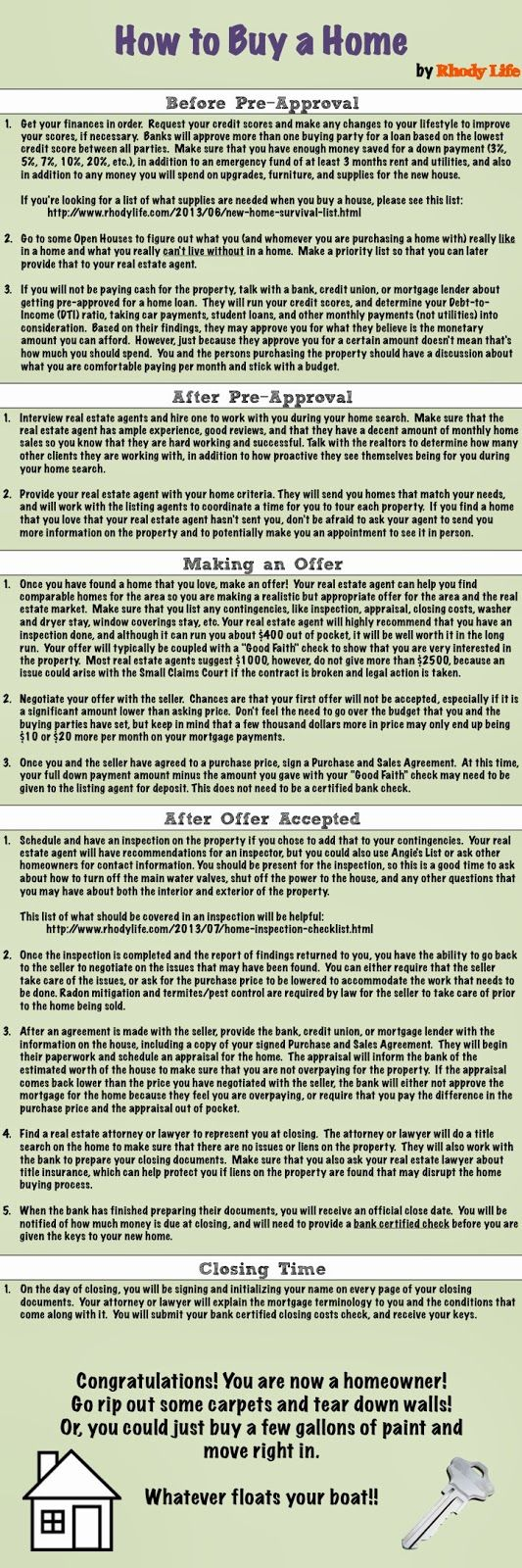 How to Buy a House - great post. Selling or Buying in IL? Contact Maribeth Tzavras REMAX 630.624.2014