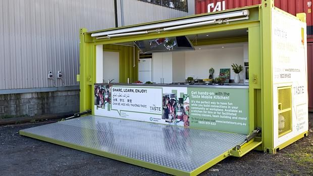 shipping container kitchen - Google Search | Container
