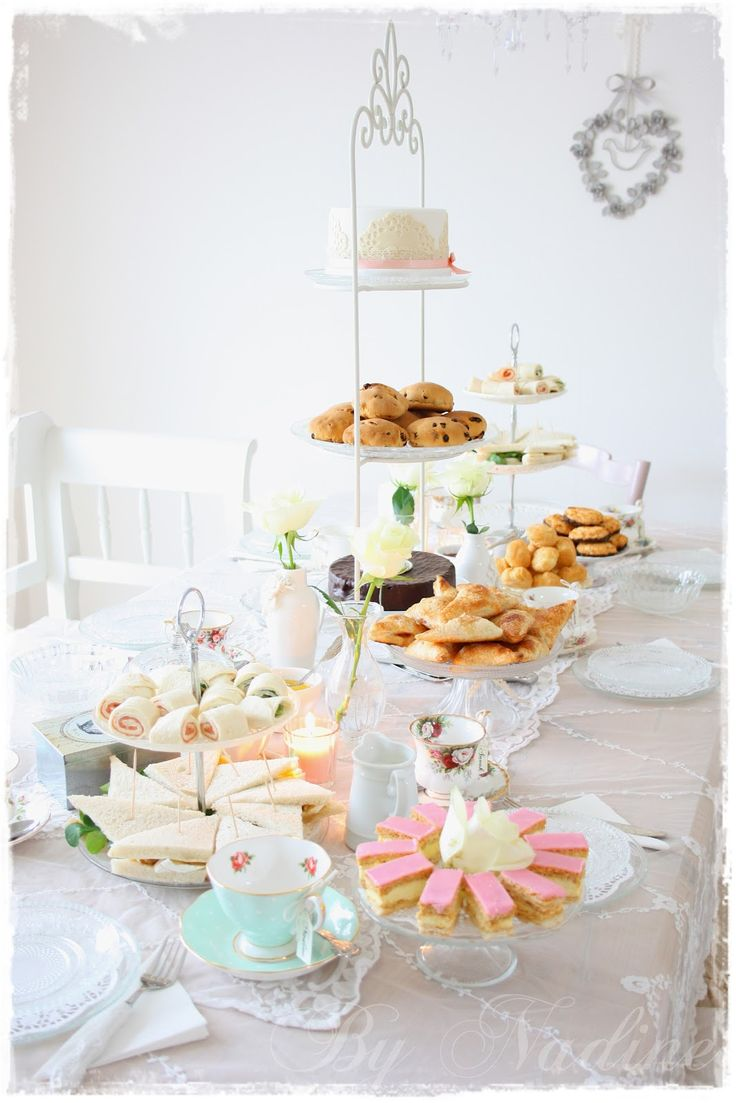 26 best images about high tea for hamlin on pinterest for Party table setting