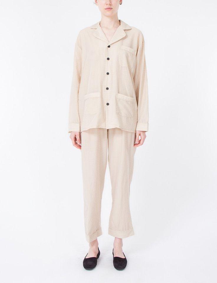 Pajama Set Sheer Stripes