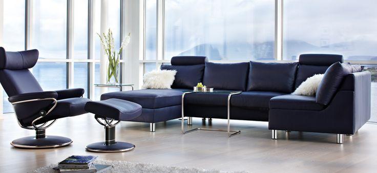 increiblemente bello y m s confortable de lo que pueda imaginar el sof stressless e200 es. Black Bedroom Furniture Sets. Home Design Ideas