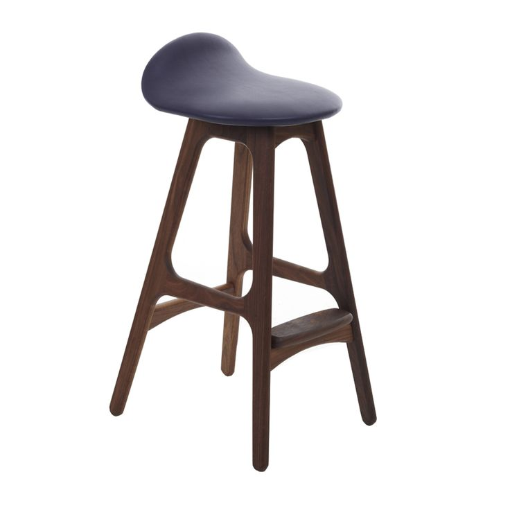 1000 images about furniture design on pinterest counter stools teak and lounge chairs - Erik buch bar stool ...