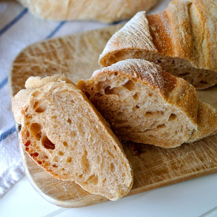 Babiččina volba - Recept - Rustikální bagety