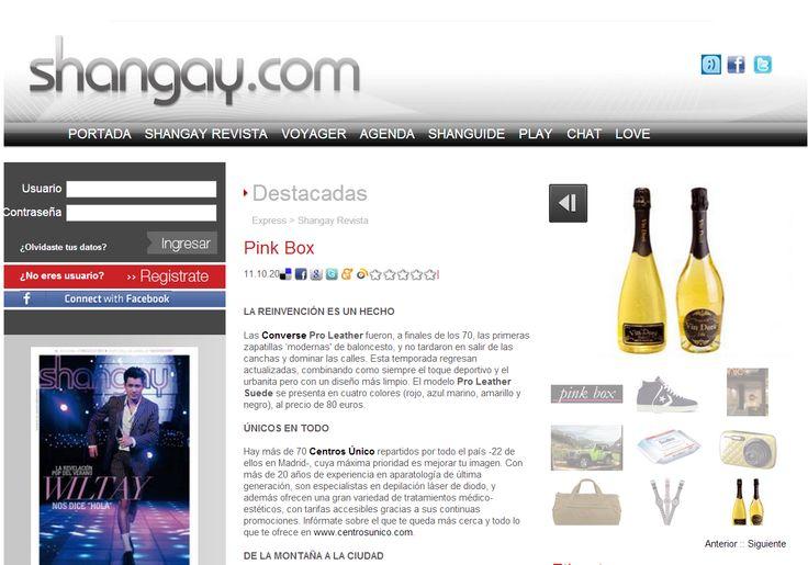 La web Shangay recomienda Vin Doré 24K