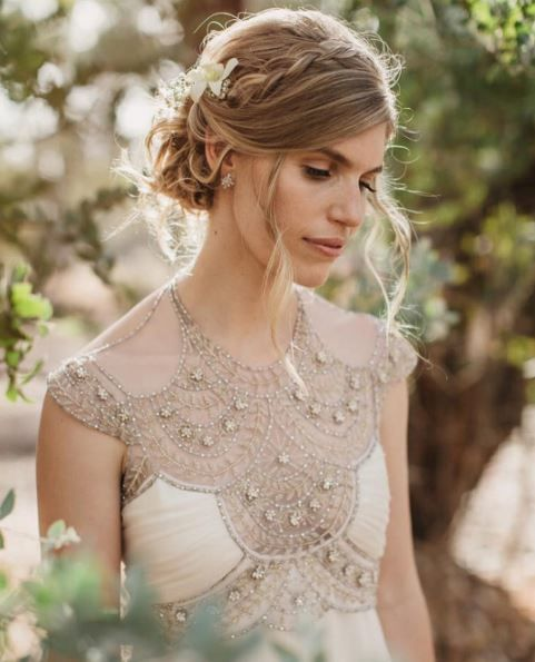 11 Wedding Dress Designers to Follow on Instagram   Melbourne-based designer Gwendolynne gives us all the heart eyes with her vintage-meets-modern style. Rather than focusing on the latest trends, she draws her inspiration from historic art and architecture to create elegant gown like this beaded beauty.