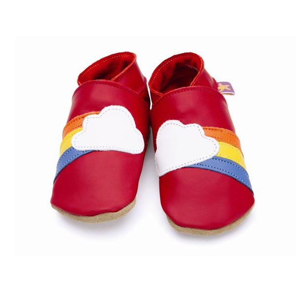 rainbow soft shoes by Starchild