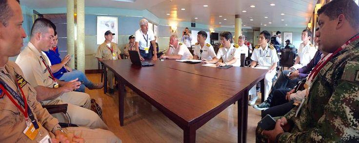 A bordo de crucero japonés se realizó simulacro de atención médica  NOTICIAS DE LA ARC - Página 103 - América Militar  Fuente: Dimar